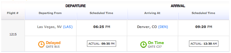 """On Time"" is just Another Word for ""Delayed"""