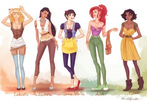 Fashion Princesses